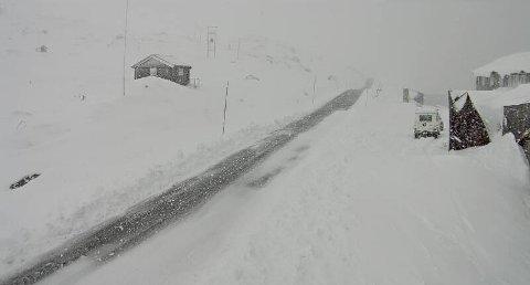 Vinteren er på vei. Her et bilde fra Sognefjellet.