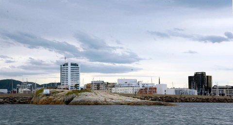 Bodø sentrum fra sjøsiden