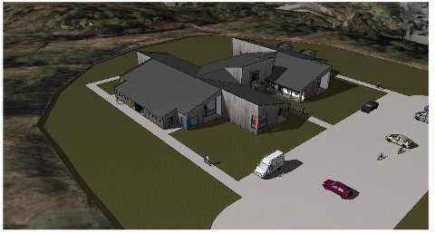 Prosjektet ble skrinlagt: Slik hadde Norconsult skissert at den nye barnehagen skulle se ut. Saltenbygg AS lå an til å få prosjektet, men så ble det hele avlyst. Foto: Norconsult