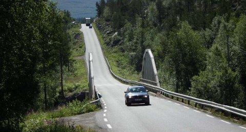 Trafikken over Saltfjellet har økt betraktelig i sommer.