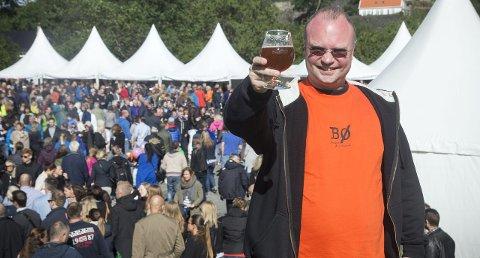 Stian Krog er storfornøyd med årets festival. Hele 21.400 personer besøkte festivalen til sammen.