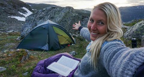 I HIMMELEN: Velkommen til Ida Ellingsund sin himmel på jord: Kosestund på fjellet