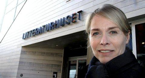Mye å jobbe med: Merete Lie har tøffe utfordringer som daglig leder for Litteraturhuset i Fredrikstad som sliter med økonomien. Arkivfoto: Svein Kristiansen