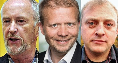 Ole Haabeth, Roald Gulbrandsen og Ulf Lervik.