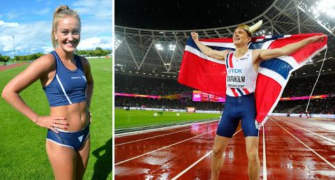 Karsten Warholm kunne torsdag feire gullet på 400 meter hekk under finalen i  friidretts-VM i London. FIF-Nora mener Karsten er helt rå. Foto: Heiko Junge / NTB scanpix