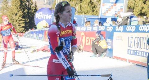 Kom seg opp: Tiril Udnes Weng fullførte Tour de Ski på en så god måte at hun sikret seg tiendeplassen sammenlagt. Foto: Terje Pedersen / NTB scanpix