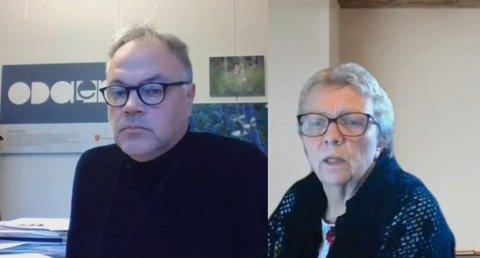 OPPGITT: Sigrun Kristoffersen (SV) likte dårlig at ordfører Knut Hvithammer (Ap) og flertallet i formannskapet ville vedta å bruke penger på Kåre Tveter-jubileet én måned før budsjettbehandlingen.