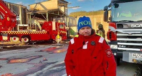 HA UTSTYRET I ORDEN: Per Harald Bekken, leder i forebyggende avdeling i Glåmdal brannvesen IKS, har registrert mange branner i år og ber alle om å sjekke at de har røykvarsleren i orden.