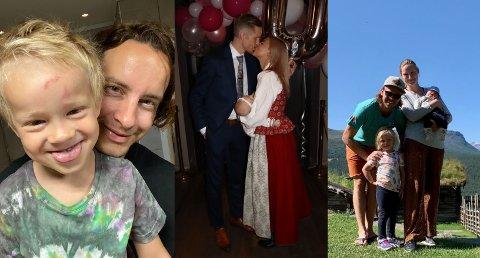 André Villa, Robert Johansson og Mikko Kokslien har alle blitt fedre nylig.