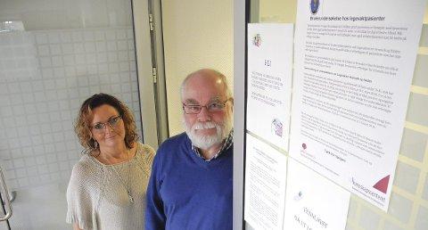 VIL HA SVAR: – Vi vet ikke om noen tilsvarende brukerundersøkelse for legevakta, så det er på tide, sier Nina Bruun Hansen og Halvard Bø.