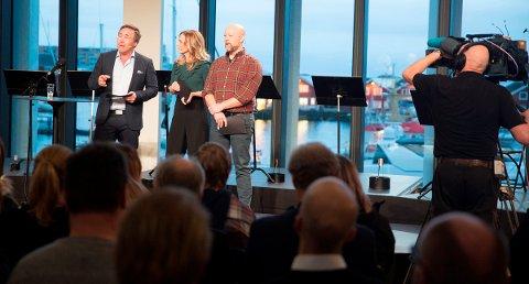 Overgangen fra FM til DAB + i Nordland ble markert med en direktesendt slukkeseremoni i Bodøs nye storstue Stormen Bibliotek. Foto: Jan-Morten Bjørnbakk / NTB scanpix