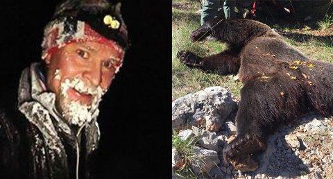BJØRNEJAKT: Ken Ronny Porsanger har startet sin egen bedrift, Arctic Extreme, som blant annet skal drive med bjørnejakt. Men noen trofèjeger er han ikke.