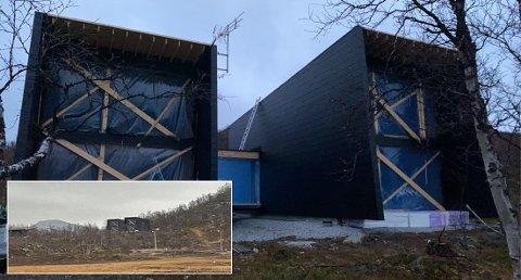 HYTTELUKSUS:  Den finske formel 1-stjernen Valtteri Bottas bygger hytte i Kilpisjärvi, som er mange tromsøværingers lekegrind om vinteren.