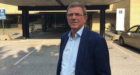 STYRELEDER: Tom Jørgensen mener at besparelsene fra Kragerø og Rjukan til nye stillinger i Grenland.