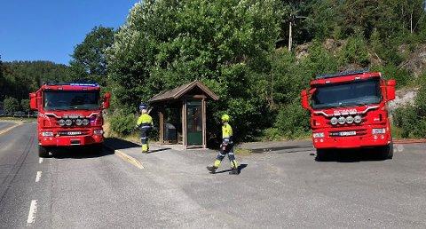 Lørdag fikk brannvesenet raskt kontroll på en skogbrann på Kalstadsletta. Nå er det totalforbud mot bruk av illd i helt Telemark.