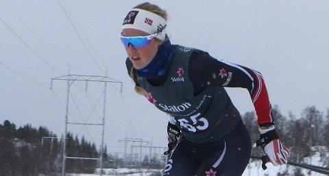 HISTORISK: Rollagjenta Karoline Simpson-Larsen blir den første kvinnen fra Numedal, som går verdenscup i langrenn.