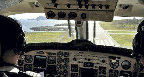 ØKNING: Widerøe flyr flere til og fra Lofoten i juli i år sammenlignet med i fjor