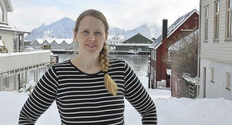 Korpsleder: Silje Harjang setter pris på at Vestvågøy Røde Kors bidrar under VM i Skreifiske.