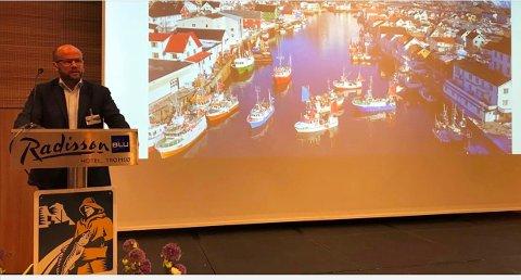 STYRELEDER: Johnny Caspersen i Norges Råfisklag