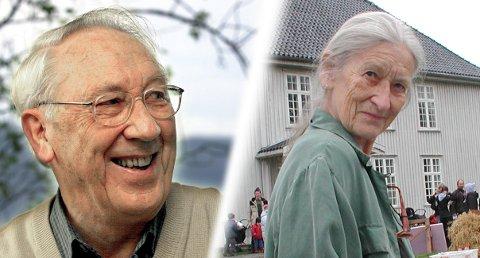 GA BORT ARVEN: Kjell Bakke og Lillian Bakke bestemte seg for at når de begge gikk bort, da skulle arven deres gå til Catosenteret i Son.
