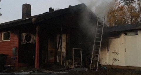 TRAGEDIE: Dyrebeskyttelsens gamle lokaler brant ned, og 13 katter mistet livet. Nå har de fått tilbud om de gamle massasjelokalene.