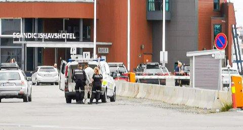 AKSJONERTE: 9. august ble oslomannen (24) pågrepet av politiet i Tromsø sentrum. Han har siden sittet i varetekt.