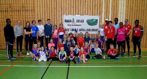 25 barn i alderen 6 til 12 år deltok på idrettsskolen i Søndre Land de to første dagene i høstferien.