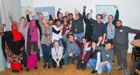 STARTER I SKI: Catalysts vil starte mentorprogram i Ski for unge med minoritetsbakgrunn som har vært i Norge i 1-2 år. Denne gjengen har vært i NRK.
