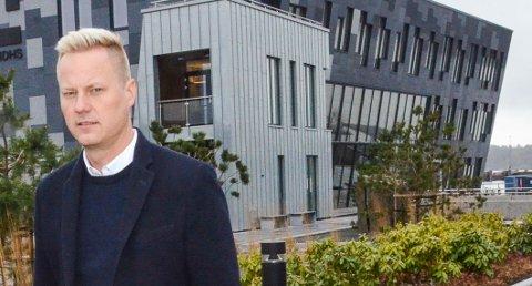 SKUFFET: Thor-Anders Lundh Håkestad hos Lundhs sier avgjørelsen vil være negativ for verdiskapningen i Larvik.