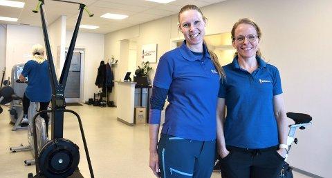 TRIVES: – Det er utrolig godt å kunne ha en jobb som vi gleder oss til å gå til hver dag, smiler fysioterapeutene Heidi Tjugum og Frøydis Ingnes Fredrikson ved Aktiv Fysioterapi i Elverum.