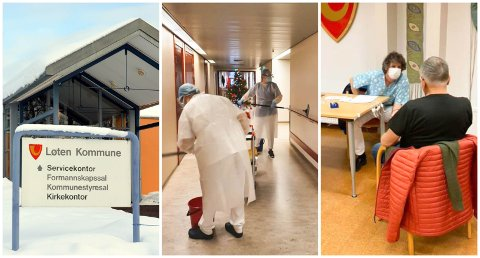 BLIR DYRT: Løten kommune kan dokumentere store merutgifter knyttet til koronapandemien.