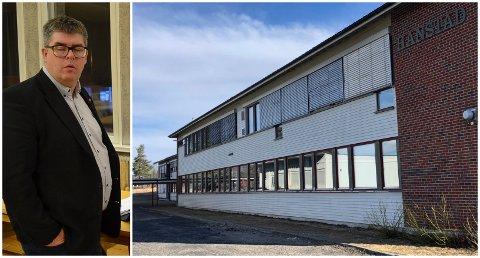 FERDIGDEBATTERT: Tor Kristian Godlien og resten av utdanningskomiteen leverer nå et forslag om at ungdomstrinnet på Hanstad legges ned.
