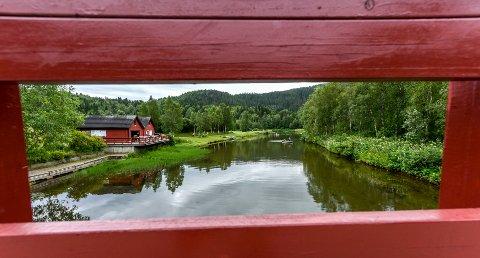 Klokkerhagen er en av fire bynære steder kommunen har tilrettelagt for badeaktivitet.