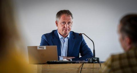 Tirsdag la rådmann Robert Pettersen fram sitt forslag til budsjett og økonomiplan. Dette bildet er tatt ved en tidligere anledning.