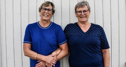Har drevet bedriften i nesten 50 år: Søstrene Inger Johanne Høyen Hovden og Anne-Britt Høyen Tollerud er godt fornøyde med virksomheten
