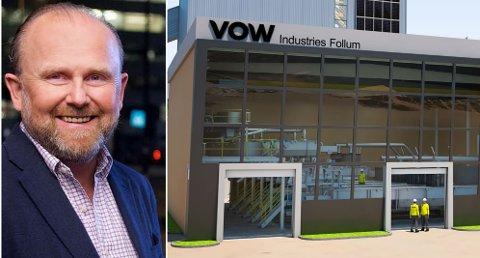 TRENGER STATSSTØTTE: – Vi venter på svar fra Enova i løpet av et par måneder, sier administrerende direktør Henrik Badin i Vow ASA.