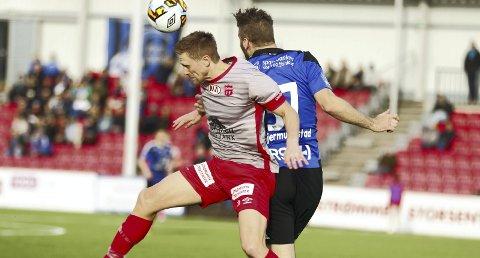 HATTRICK: Magnus Solum banket inn tre scoringer i løpet av ti minutter for Strømmen 2.