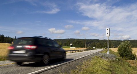 Farlig vei: Gjennomsnittshastigheten på fylkesvei 170, også kjent som Kompveien, har gått betydelig ned siden fotoboksene ble satt opp i desember 2015. Foto: Lisbeth Andresen