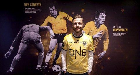 TOÅRSKONTRAKT: Arnor Smárason er glad for å være tilbake på Åråsen.