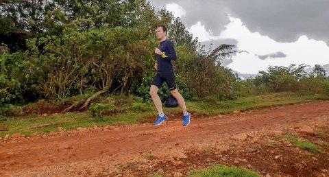 Høyt oppe: Thomas Roth befinner seg for tiden på treningssamling i Kenya. I Iten trener mellomdistanseløperen på 2.400 meters høyde.Foto: Privat