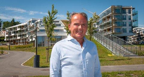 FIKK JA: Roar Ingdal er styreleder både hos tiltakshaver Oslo Property og leietaker Oslofjord Convention Center. Nå gleder han seg til å teste hotelldrift fram til 2020.
