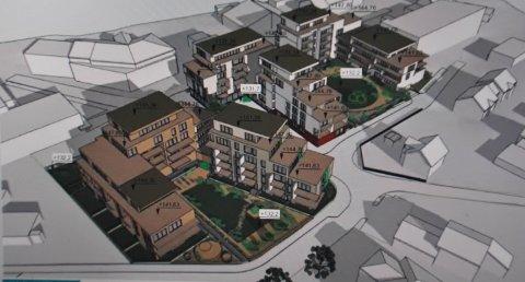 INNTRUKKET: Et stort flertall i kommunestyret stemte for å tillate de nye blokkene oppført i inntil seks etasjer.