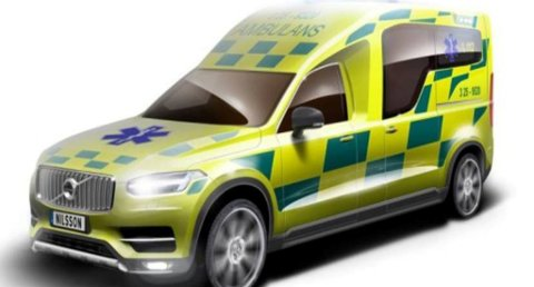 Svenske Nilsson Special Vehicles skal gjøre ambulanse av nye Volvo XC90. (Foto: Nilsson/broom.no/ANB)