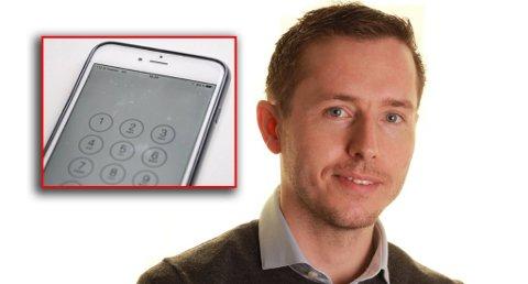 TELEFONTERROR: Michael Skinstad opplevde at svindlere overtok mobiltelefonnummeret hans. Foto: Asbjørn Olav Lien/Privat