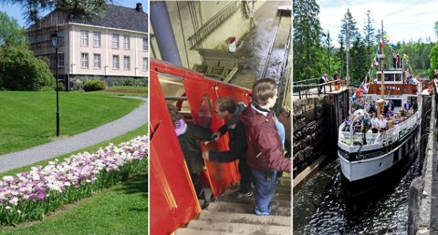 POPULÆRT: Brekkeparken, Gaustabanen og Telemarkskanalen er alle populære blant turistene. Størst vekst var det vært på Gaustabanen i år.