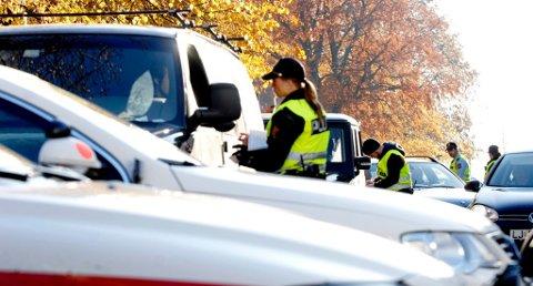SJEKKER PROMILLE: UP vil ha vekk ruskjørerne fra veiene. Foto: Kirvil Håberg Allum