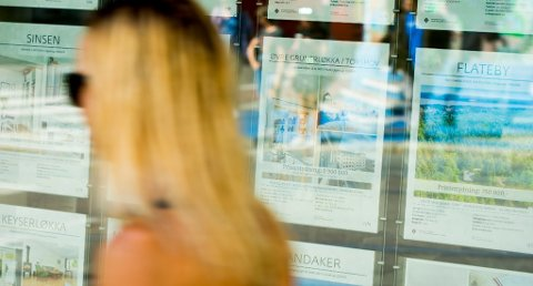 Eiendomsmekling er en av bransjene som står lavest i kurs hos forbrukerne. (Foto: Vegard Wivestad Grøtt, NTB scanpix/ANB)