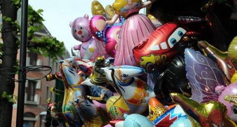 Forbud: Gassballonger er et kjent innslag på 17. mai og under Barnas dag i Porsgrunn.