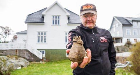 Andreas Fleischer og familien hadde sitt eget lille mysterium å løse i påsken. (Foto: Juni Wendelin Fasting)