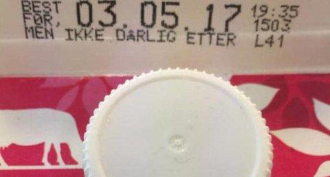 Q-Meieriene er først ute med ny datomerking på melk.
